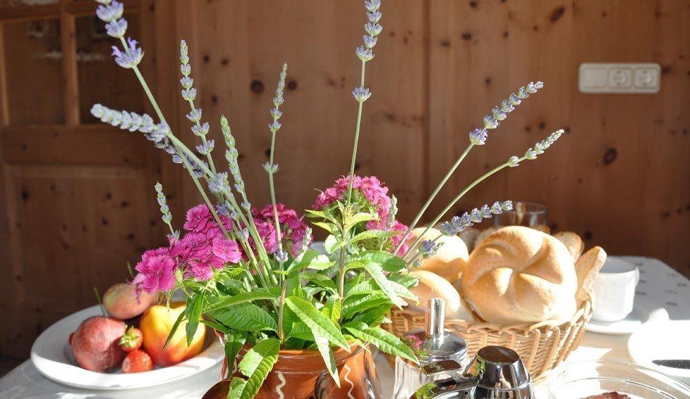 """la prima colazione contadina nella nostra """"Stube"""""""